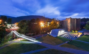 Pedestrian Bridge, Location: Clifton Forge, Virginia, Architect: Virginia Tech, DesignBuild Lab